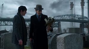 Oswald conoce a su padre