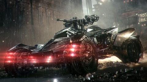 Official Batman Arkham Knight -- Batmobile Battle Mode Reveal-0