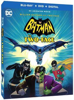 Batman-vs-two-face dvd