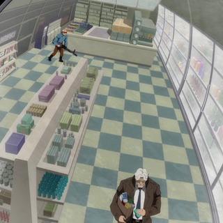 Gordon es atacado en un supermercado