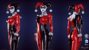Harley Quinn Batman Arkham Knight character model-2