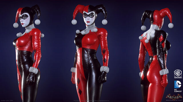 File:Harley Quinn Batman Arkham Knight character model-2.jpg