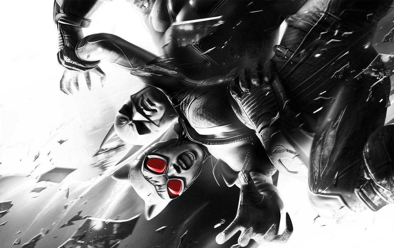 Batman Catwoman Arkham City Wallpaper 2