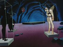 Batman Beyond - S01 E03 - Black Out - Fight with Inque 4 Trophy Costumes