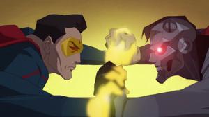 TROFS - El Erradicador se enfrenta a Cyborg-Superman