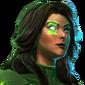 DC Legends Jessica Cruz Green Lantern Codefender of Earth Portrait