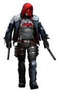 Arkham knight red hood