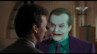 Bruce Wayne talks with Joker Batman 4k, 30th Anniversary Edition