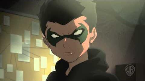 Robin y Talon conversan.