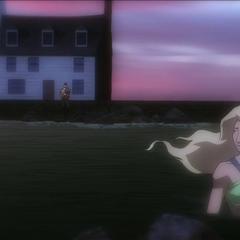 Atlanna abandona a su familia.