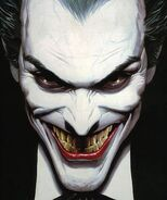 The Joker smile