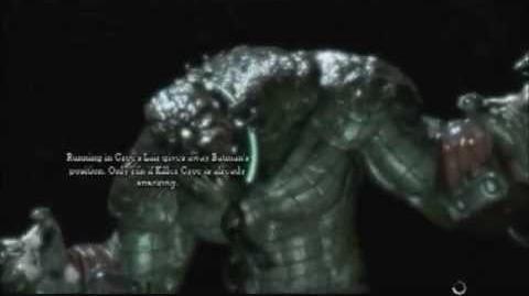 Batman Arkham Asylum Game Over Killer Croc