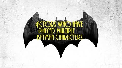 Actors who have played multiple batman characters