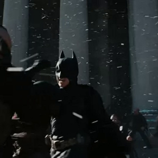 Batman y Bane vuelven a enfrentarse.
