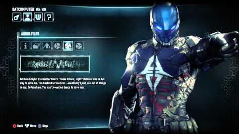 Batman Arkham Knight All Arkham Knight Audio Logs