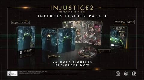 Injustice 2 - ¡Pack de luchadores 1 revealado!