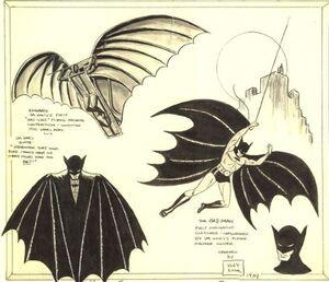 Bob Kane Batman Design