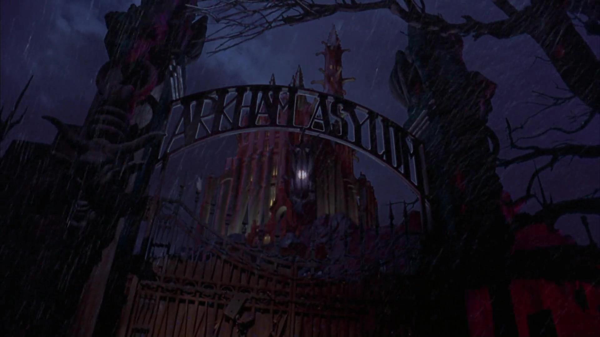 Arkham Asylum Burton Schumacher Films