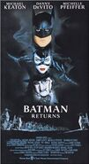 Batman Returns (1992) VHS Front Cover