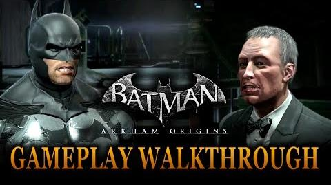 Batman Arkham Origins - Official Gameplay Walkthrough