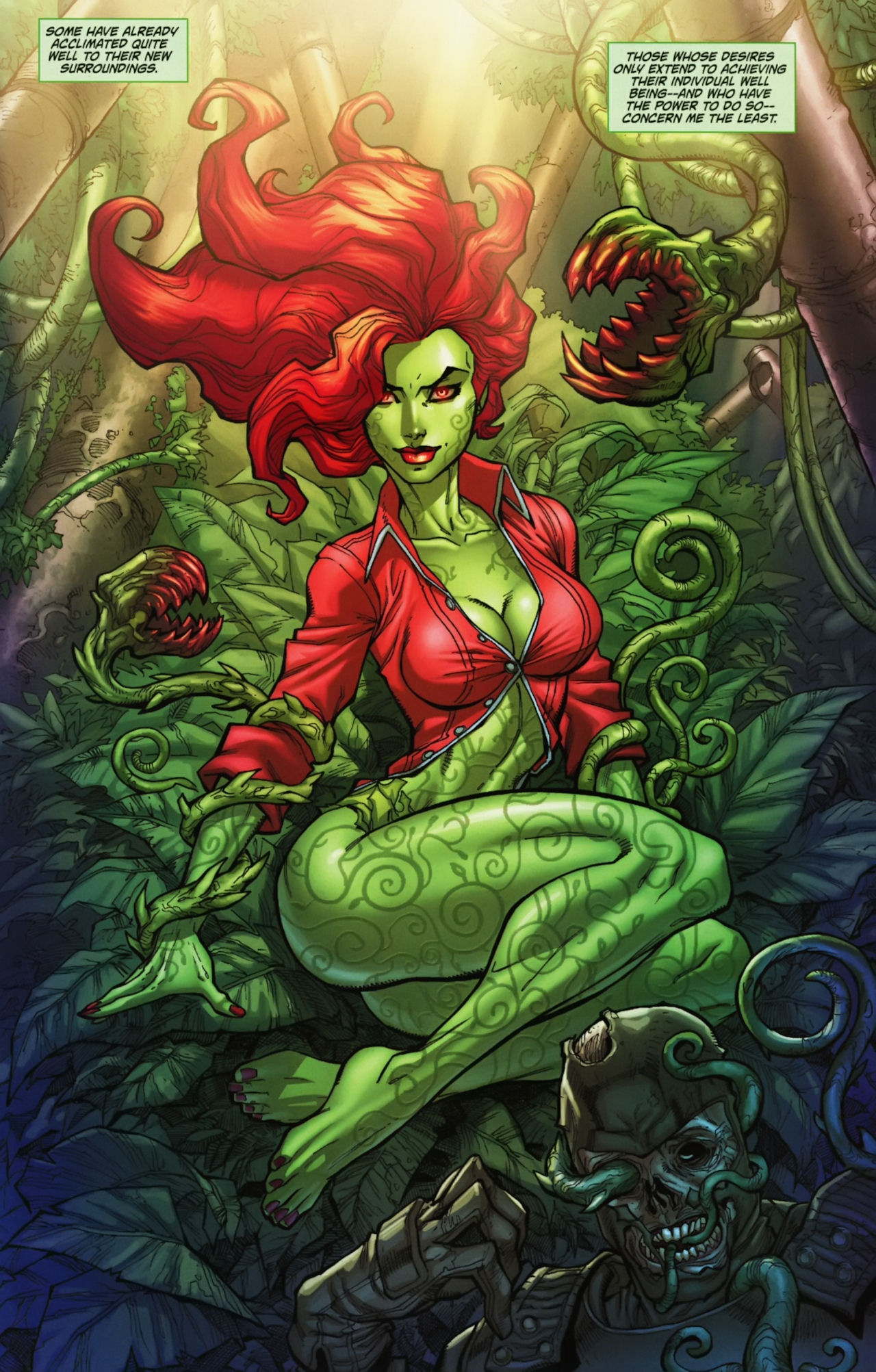Batman poison ivy kiss of death