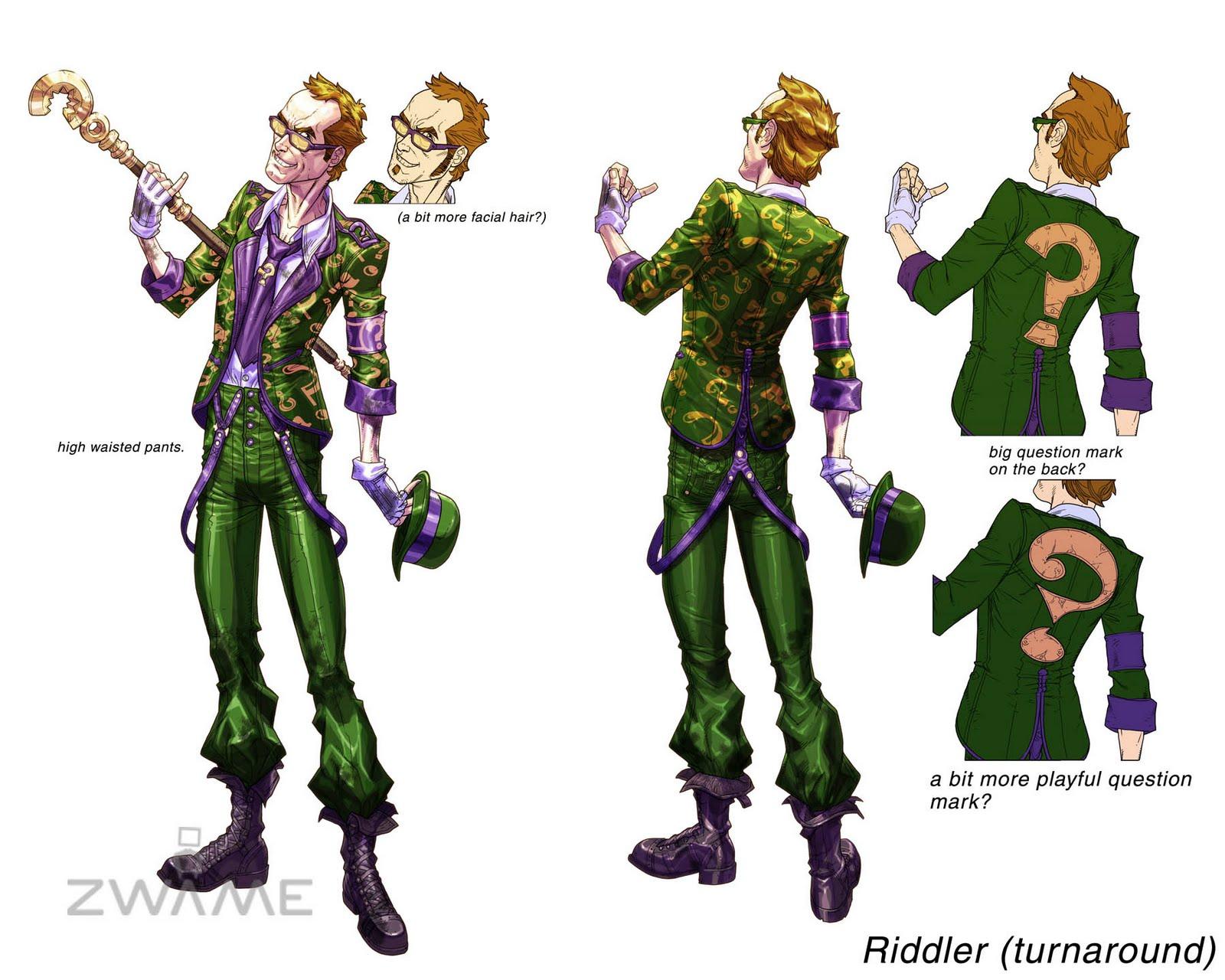 Riddler Arkham City