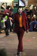 Joker plastic masks