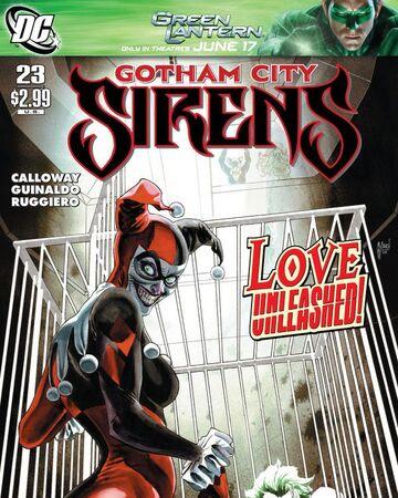 Gotham City Sirens Issue 23 Batman Wiki Fandom