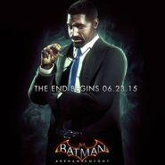 LuciusFox Batman ArkhamKnightpromoad