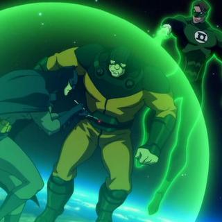 Batman desactivando una de las bombas