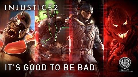 Injustice 2 - Es bueno ser malo.