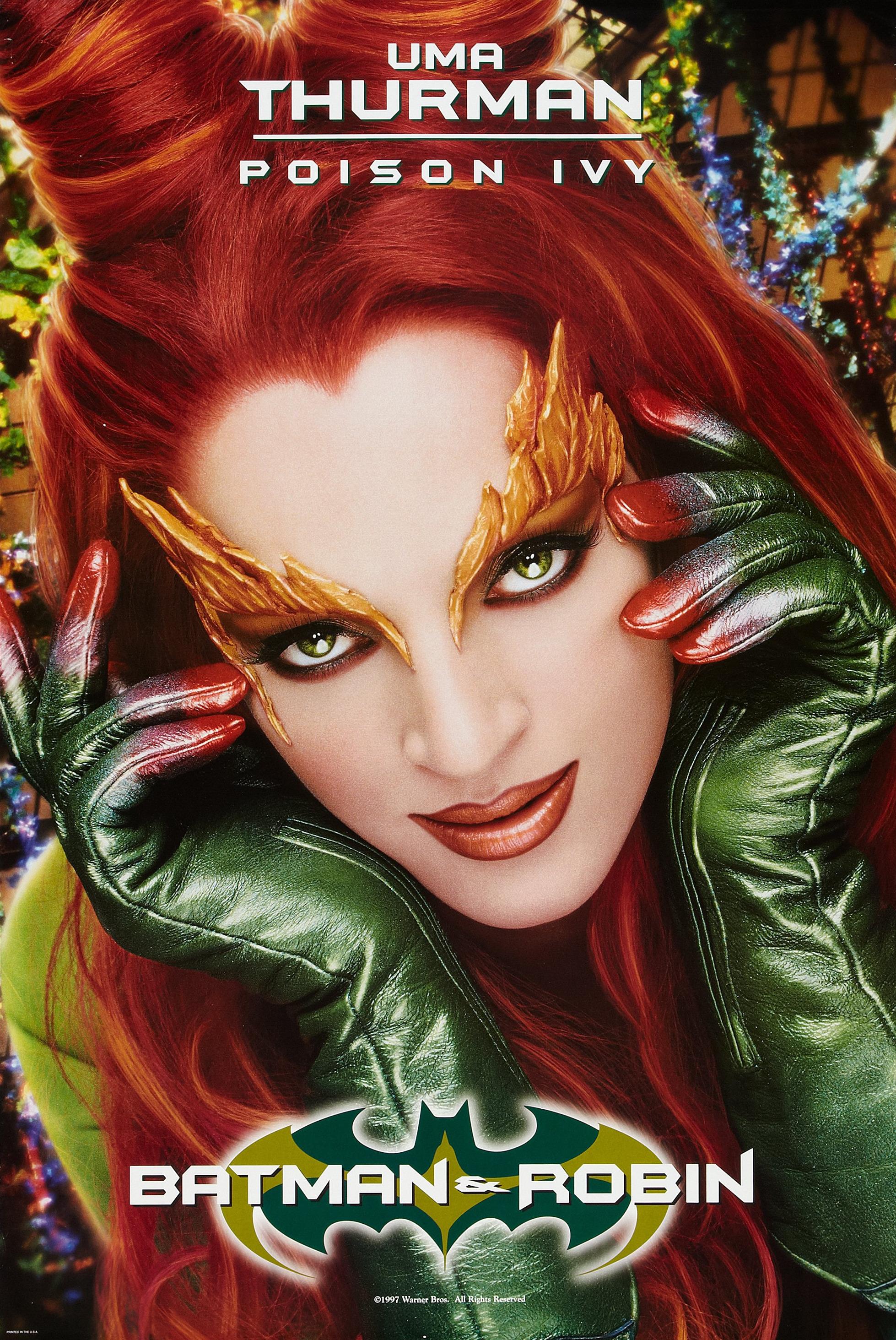 image poison ivy movie poster jpg batman wiki fandom powered
