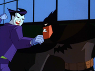 Joker and Batman fight