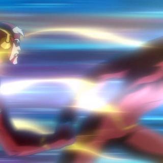 Flash trata de detener a su contraparte