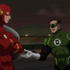 Barry convoca a Hal.