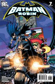 Batman and Robin-7 Cover-2