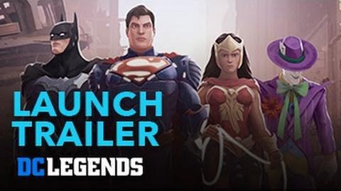 DC Legends - Trailer de lanzamiento