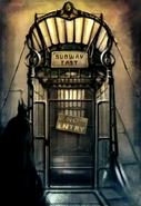 28-Subway Entrance
