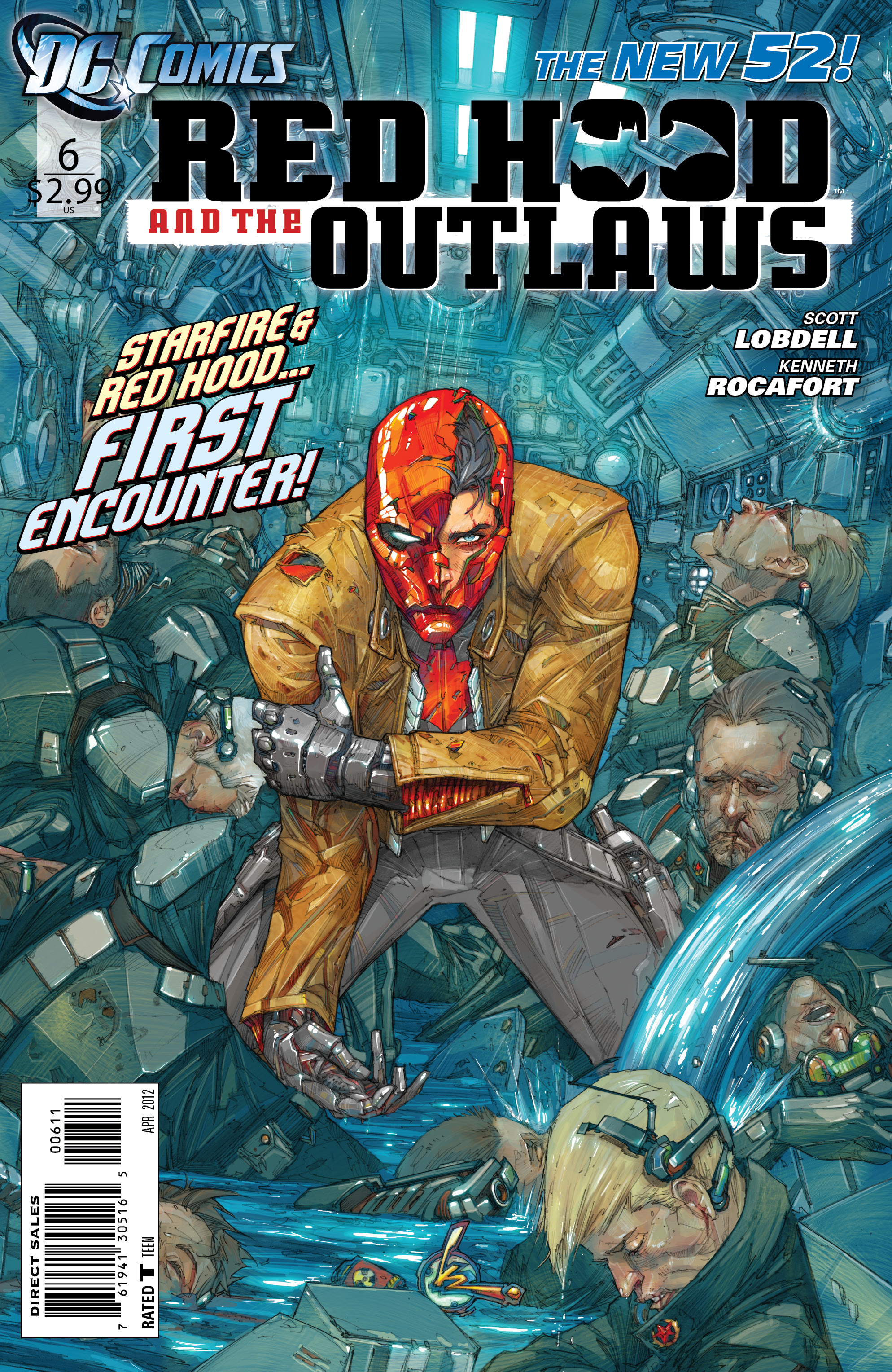Red Hood and The Outlaws (Volume 1) Issue 6 | Batman Wiki ...