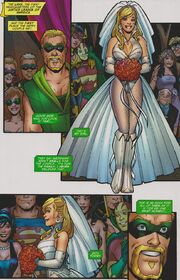 Green arrow and black canary wedding