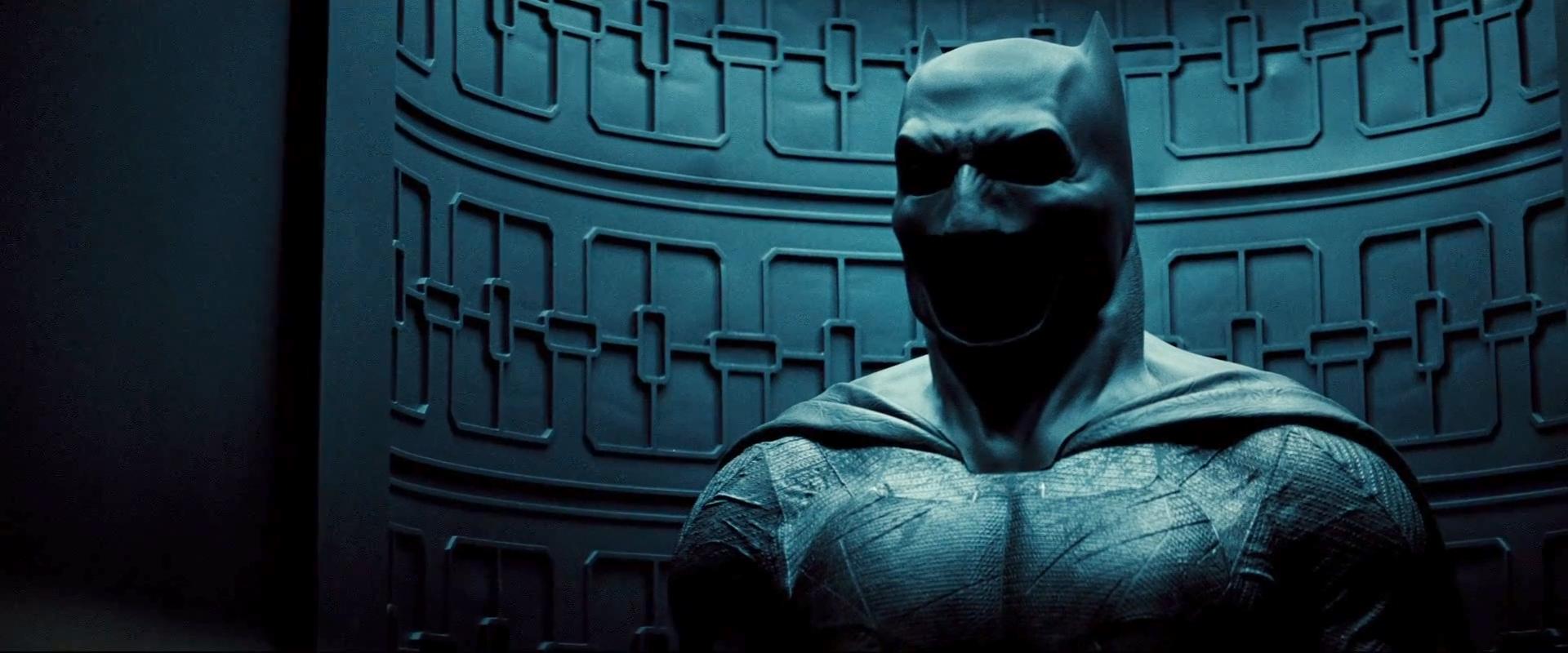 Batman V Superman Trailer Cowl Batsuit Full