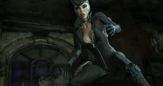 Batman arkham city batman series catwoman female