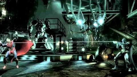 Injustice Battle Arena Fight Video Batman vs