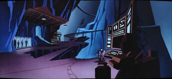 Batman Beyond - S01 E12 - A Touch of Curare - Batcave Panorama
