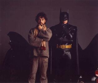 William Todd-Jones batsuit wrangler