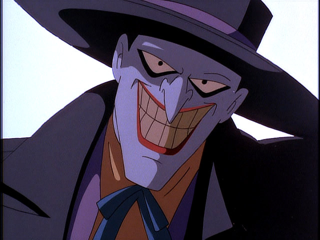 The joker dc animated universe batman wiki fandom powered by the joker visits arthur reeves in batman mask of the phantasm voltagebd Choice Image