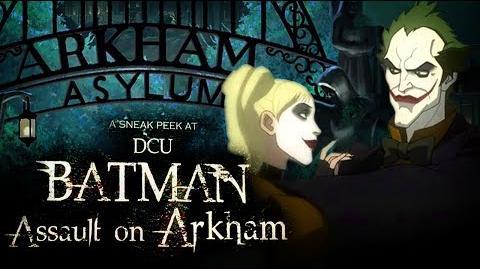 Batman Assault on Arkham Sneak Peek