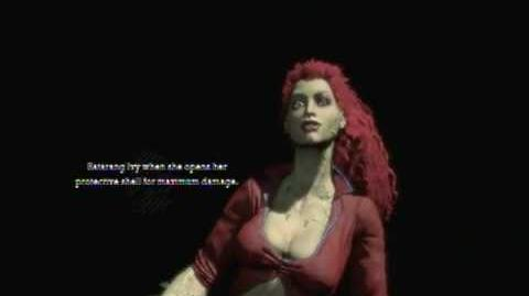 Batman Arkham Asylum - Game Over Poison Ivy