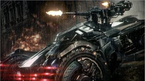 Official Batman Arkham Knight -- Batmobile Battle Mode Gameplay