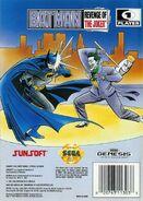 Batman - Revenge of the Joker Genesis back cover